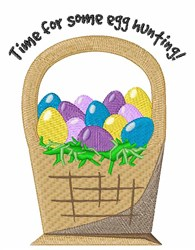 Egg Hunting embroidery design