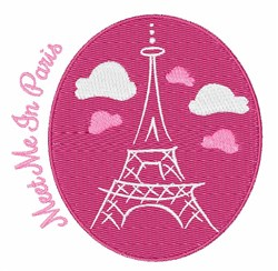 Meet In Paris embroidery design