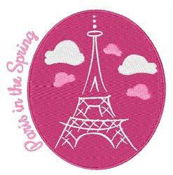 Paris In Spring embroidery design