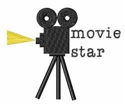 Movie Star embroidery design