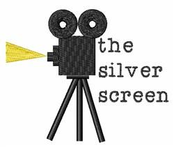 Silver Screen embroidery design