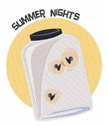 Summer Nights embroidery design