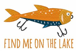 On The Lake embroidery design