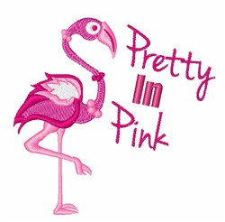 Petty In Pink embroidery design