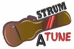 Strum A Tune embroidery design