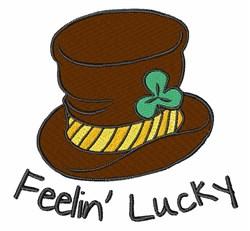 Feelin Lucky embroidery design