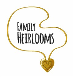 Family Heirlooms embroidery design