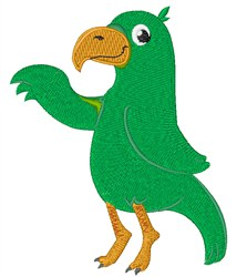 Parrot Bird embroidery design