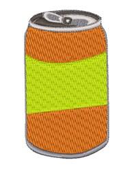 Soda Can embroidery design