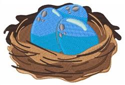 Bird Nest embroidery design