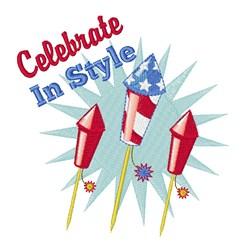 Celebrate in Style embroidery design