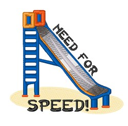 Need For Speed embroidery design