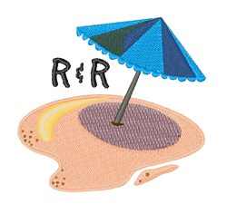 R&R Umbrella embroidery design