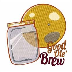 Good Ole Brew embroidery design
