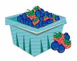 Berry Carton embroidery design