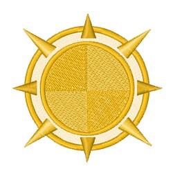 Solar Compass embroidery design