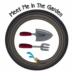 Meet Me embroidery design