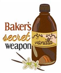 Secret Weapon embroidery design