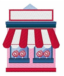 Candy Store embroidery design