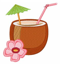 Rum Punch embroidery design