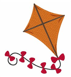 Flying Kite embroidery design