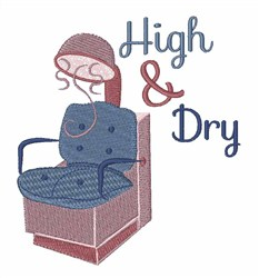 High & Dry embroidery design