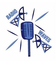 Radio Waves embroidery design