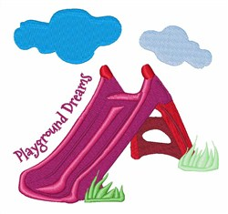 Playground Dreams embroidery design