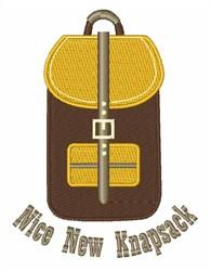 New Knapsack embroidery design