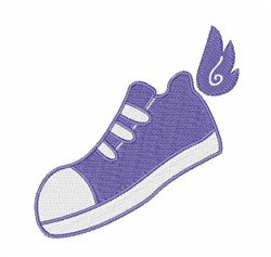 Winged Shoe embroidery design