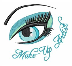 Make-up Artist embroidery design