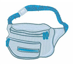 Fanny Pack embroidery design