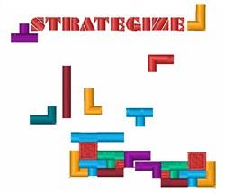 Strategize embroidery design