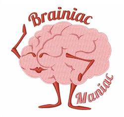 Bainiac Maniac embroidery design