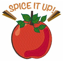 Spice It Up embroidery design