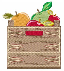Box Of Apples embroidery design