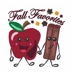 Fall Favorites embroidery design