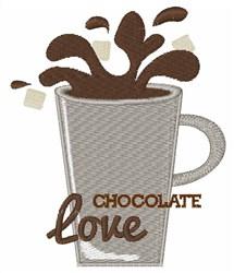 Chocolate Love embroidery design