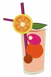 Cocktail Time! embroidery design