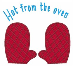 Hot From The Oven embroidery design