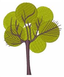 I Love Trees embroidery design