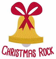 Christmas Rock Bells embroidery design