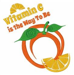 Got Vitamin C? embroidery design