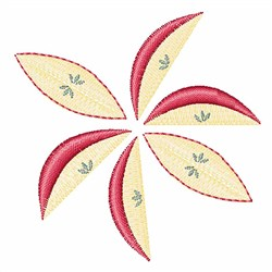 Apple Slices embroidery design