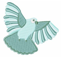 Partridge embroidery design
