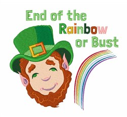 End Of Rainbow embroidery design