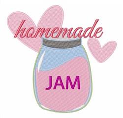 Homemade Jam embroidery design