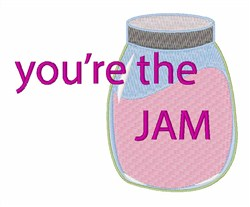 Youre The Jam embroidery design