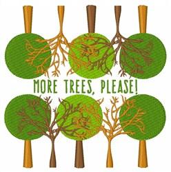 More Tress, Please! embroidery design