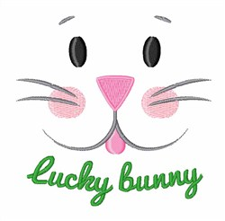 Lucky Bunny embroidery design